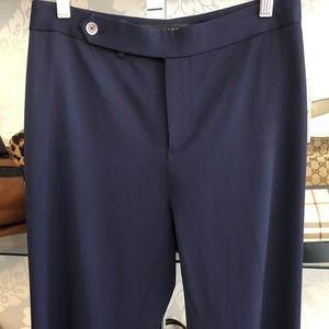 RALPH LAUREN Black Label Navy Blue Dress Pant